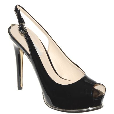 #Chanel in vernice nera di #Guess  http://www.tentazioneshop.it/guess/chanel-huzzie-nero-guess.html