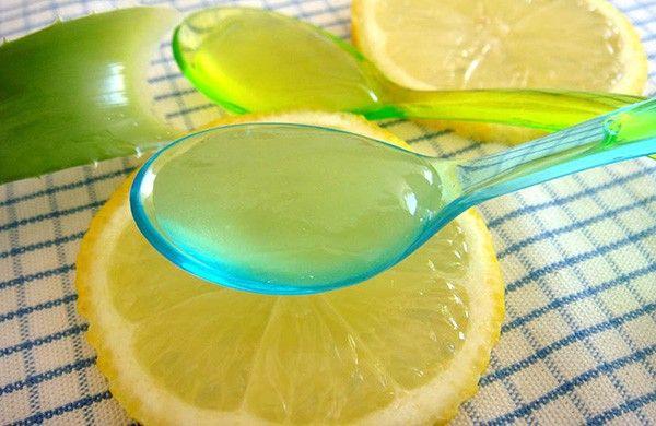 Masque Gel Anti Soif Eclat Purete Aloe Vera Citron