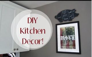 Easy DIY Kitchen Decor An Incredibly Easy Method That Works For All  Kitchen Decor Ideas