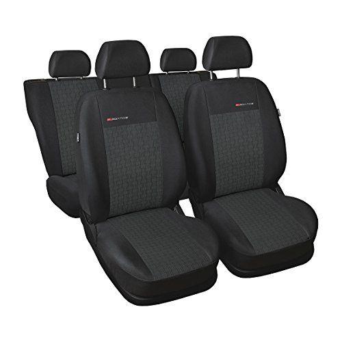 ELEGANCE (E1) (cucito su misura) - Set coprisedili auto per: Ford Fiesta VII - (2008-....)