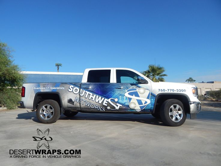 Southwest Network now has an official truck wrap installed by DesertWraps.com located in Palm Desert, CA. Give us a call at 760-935-3600. #TruckWrap #VehicleWrap #PalmDesert #CoachellaValley