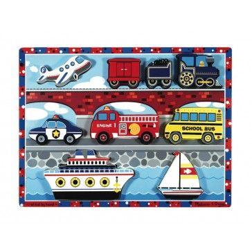 Melissa & Doug Chunky Puzzle Vehicles