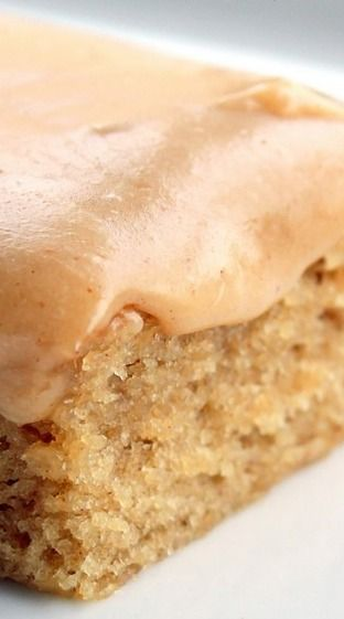 Peanut Butter Sheet Cake with Peanut Butter Frosting