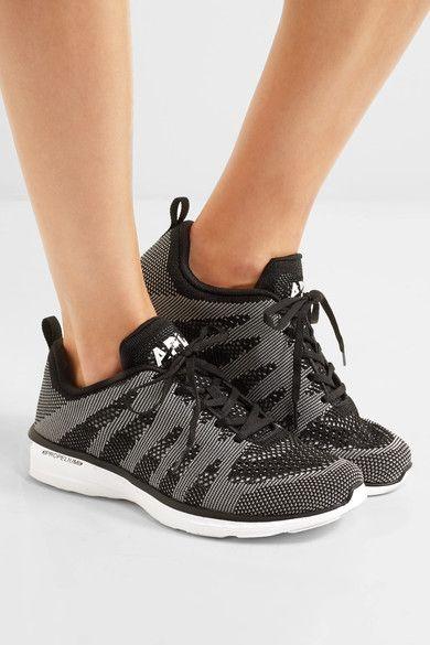 Athletic Propulsion Labs - Techloom Pro Mesh Sneakers - Black - US