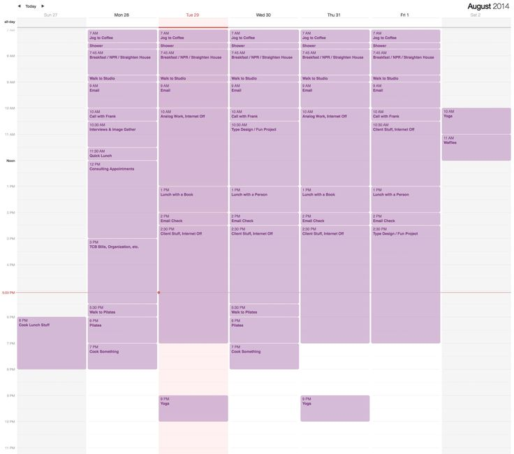 Jessica Hische - Productivity Quest: Ultra-Schedule