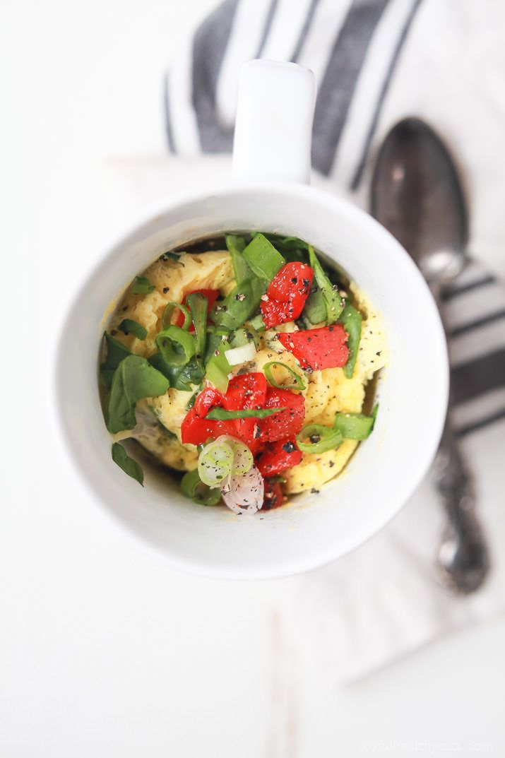 7. 2-Minute Egg Omelet in a Mug #healthy #meals http://greatist.com/eat/healthy-mug-recipes