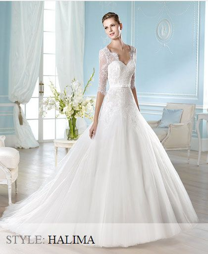 San Patrick Wedding Gown - Glamour Collection 2014 - Halima