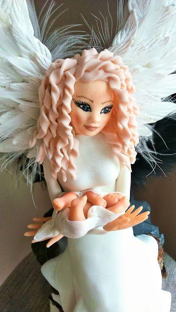 Zimna porcelana -moja pasja: Anioły...