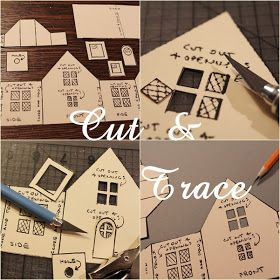 Best DIY site for making little paper houses!!!