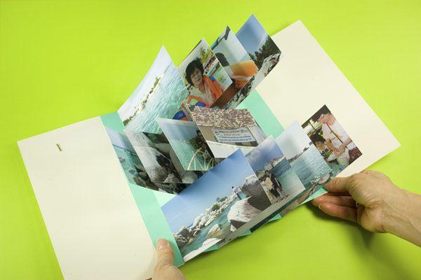 fun flip-flap book tutorial over at Photojojo! Such a fun twist on a photo album! :)