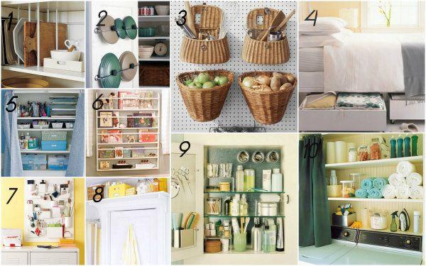 Dieci idee salva spazio per la casa