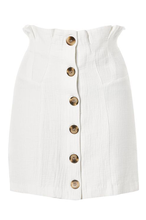 Button Through Mini Skirt - New In Fashion - New In - Topshop