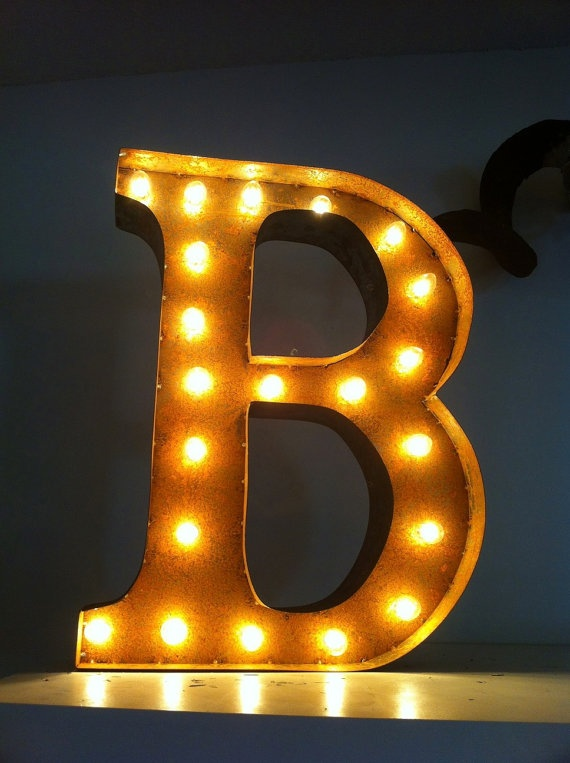 blue j vintage industrial metal sign light letters marquee 25 best ideas about light letters on marquee 947