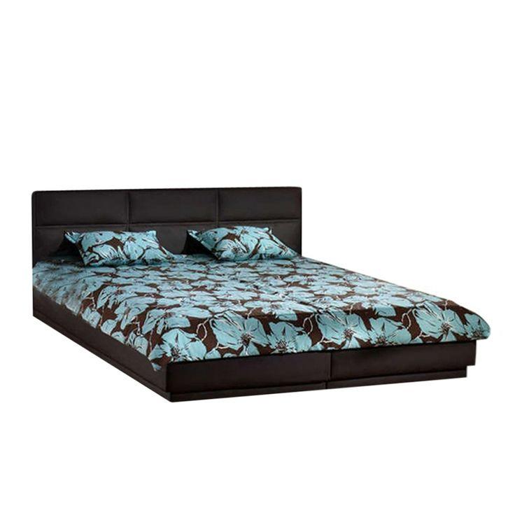 Set camera da letto Austin - Similpelle Marrone