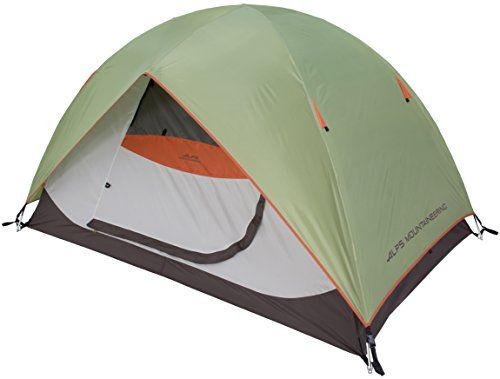 """ALPS Mountaineering Meramac 2-Person Tent - The Meramac series tents are all free standing 2-pole designs with shock corded fiberglass or aluminum ferrules. The ferrules are the """"connectors"""" that hold the poles together and we use aluminum, rather than steel, because aluminum can never rust. Our fiberglass poles are also normally one size ..."""