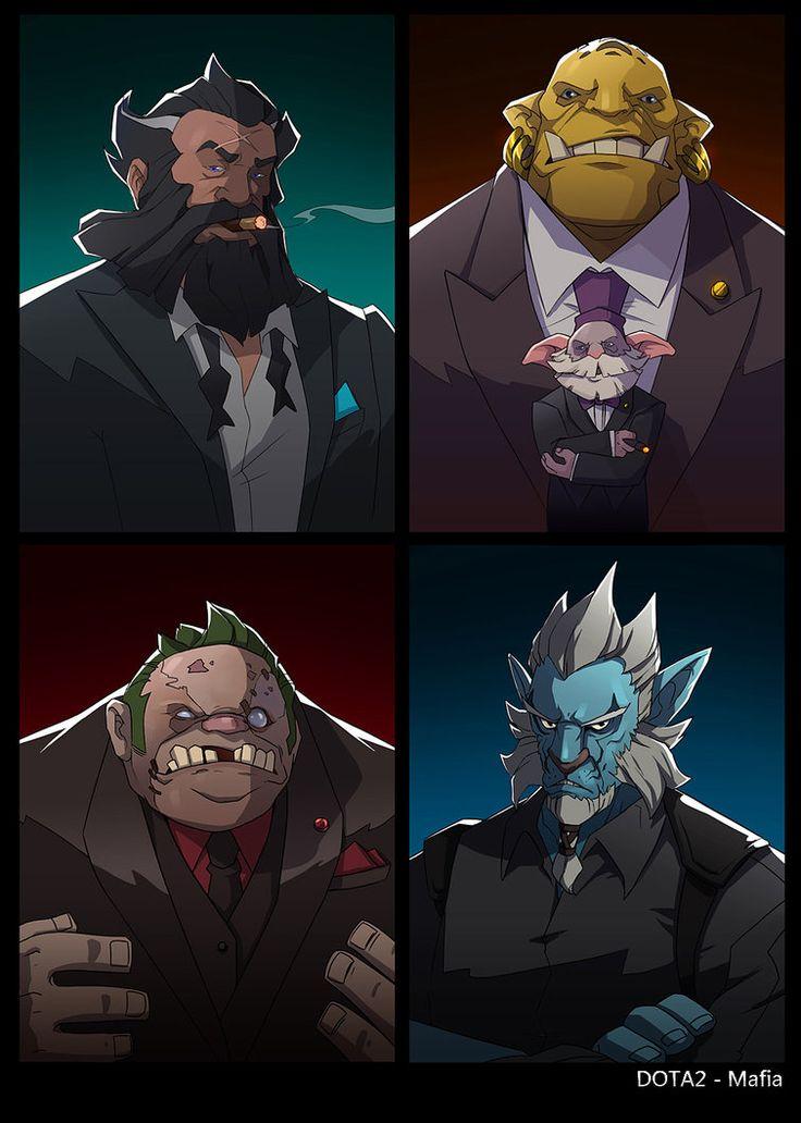 dota2 Mafia part3 by biggreenpepper on DeviantArt