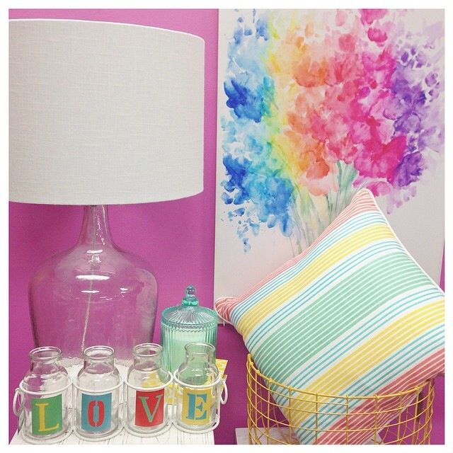 This collection works perfectly with our new wall colour!
