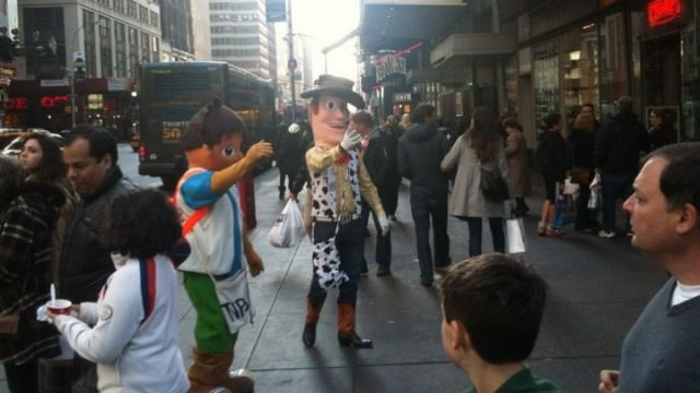"Times Square ""Woody"" Character Arrested For Groping Girls -Cosmopolitan.com"