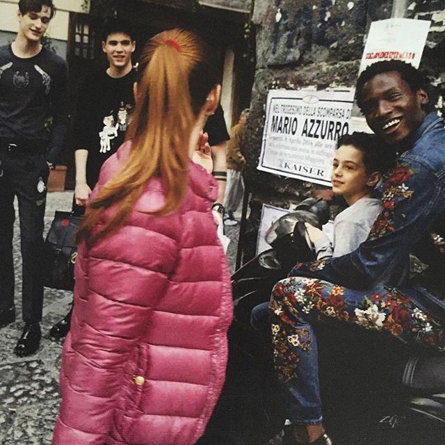 @stefanogabbana Dolce & Gabbana AD Campaign #dglovesnaples ❤️❤️❤️❤️#sud #spontaineta' #genteassaje #NAPOLIÈ