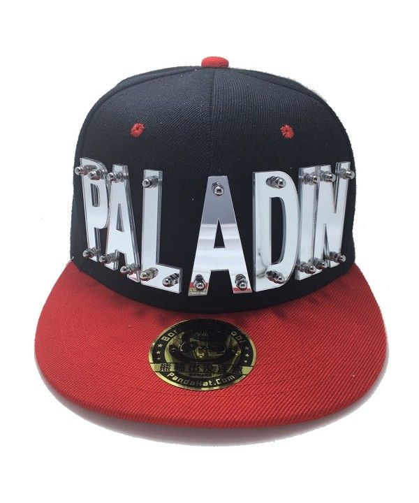 8e2510c7ae620 PALADIN VOLTRON HAT IN BLACK WITH RED BRIM Reflective Silver C31887Q7ICY in  2019