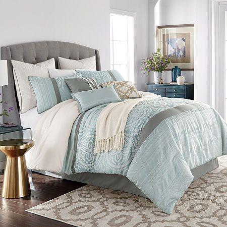 Jcpenney Home Mayer 10 Pc Jacquard Comforter Set Comforter Sets