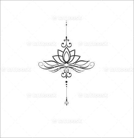 Lotus Flower ❥❥❥ https://tattoosk.com/lotus-flower                                                                                                                                                                                 Más
