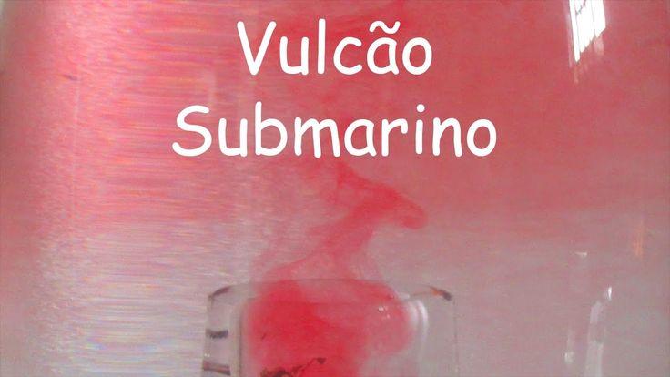 Experiência #13 Vulcão Submarino