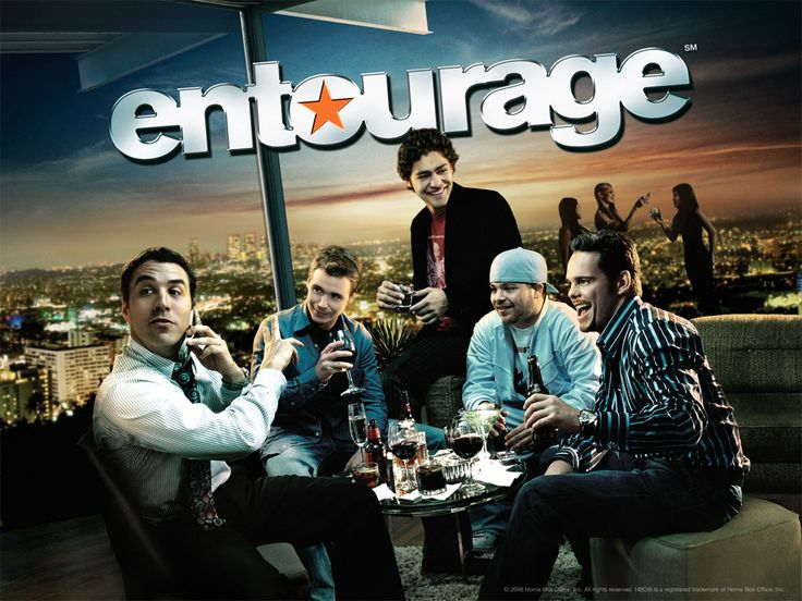 Entourage - an American comedy-drama television series that premiered on HBO on July 18, 2004 and concluded on September 11, 2011, after eight seasons.  Good News for fans of Mark Wahlberg and his hit television show, HBO's Entourage: there's talk of an Entourage movie spin-off coming to theaters near us, and all stars in the series will reprise their roles in the film.  Can't wait!