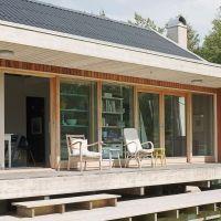 """Se fler bilder ifrån huset     Modernt hus A2451  """"Ett gammalt sommarställe har efter en"""