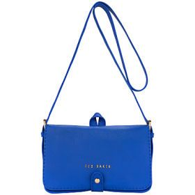 Ted BakerMarkun Stab Stitch Leather Across Body Bag