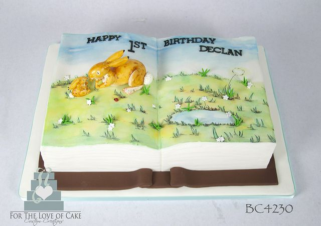 BC4230 guess how much I love you book cake toronto oakville | Flickr - Photo Sharing!