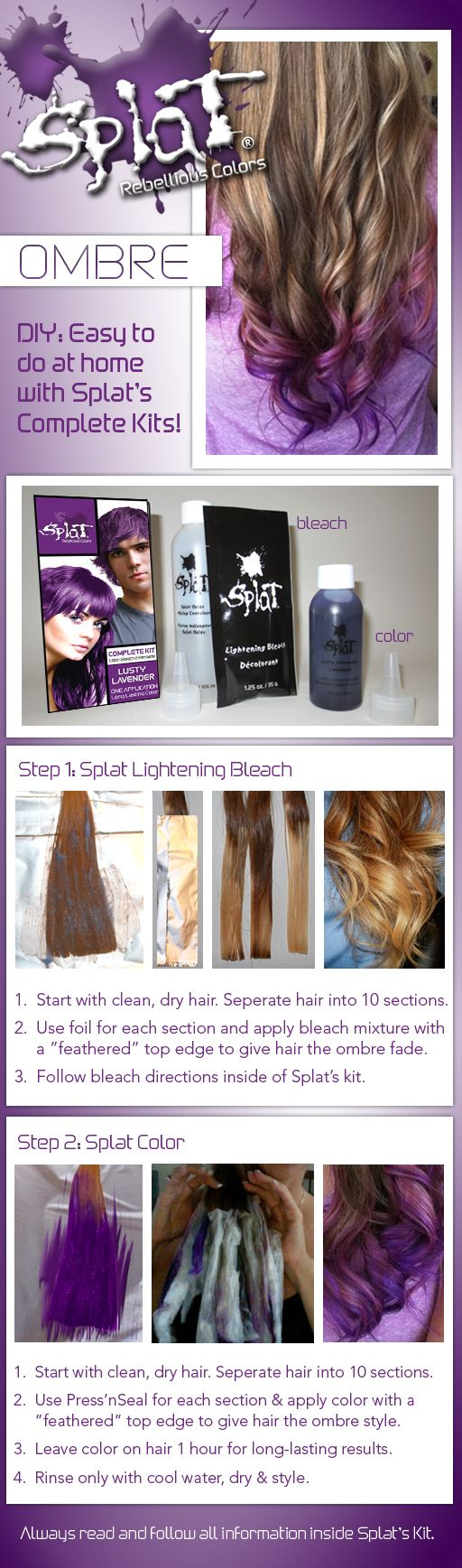 7 Best Diy Splat Hair Color Ideas Images On Pinterest Hair Color