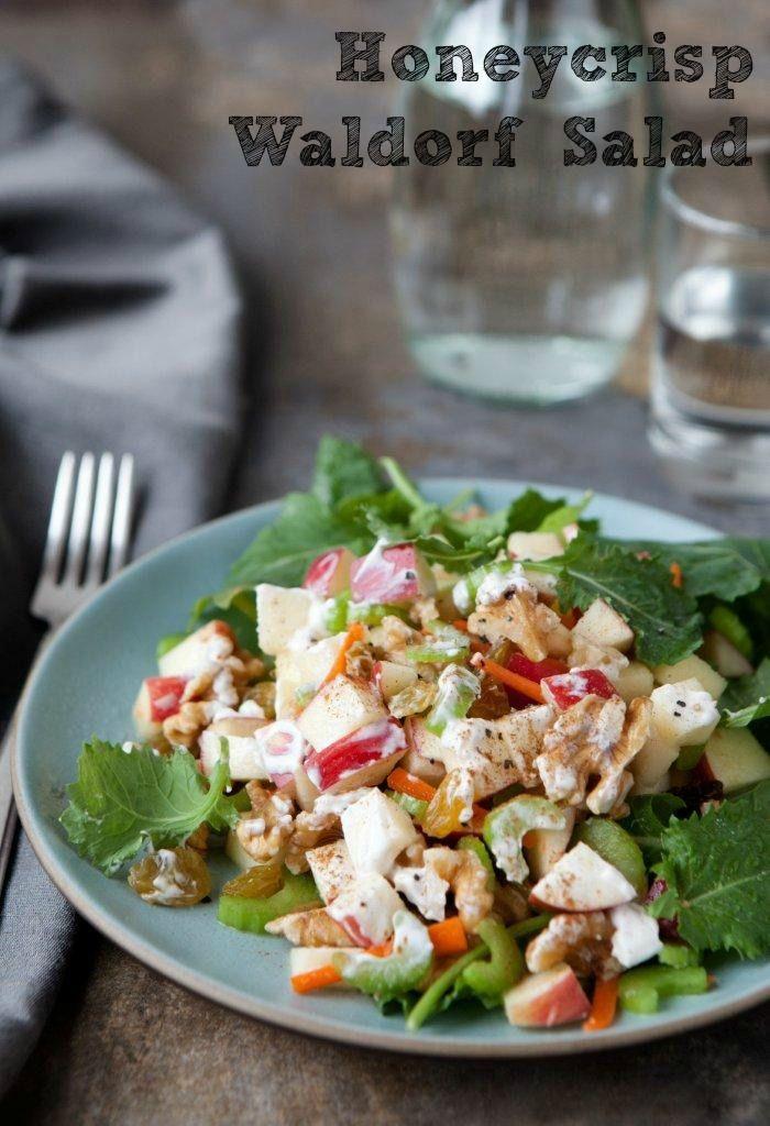 Honeycrisp Waldorf Salad - The Produce Mom