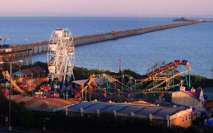 At 1.34 miles, Southend-on-Sea's pier is the longest pleasure pier in the entire world – it's so long, it even has a train line. It was built in the 19th century because boats could not stop near the beach at low tide, and it was feared the resort was losing tourism.