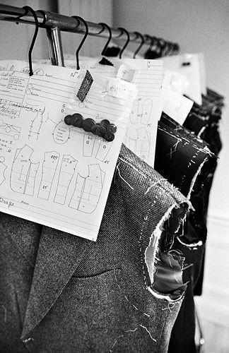 Fashion Atelier - haute couture garment construction; fashion design behind the scenes // Francesco Smalto