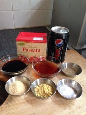 Vicki-Kitchen: Cola BBQ sauce (slimming world friendly)