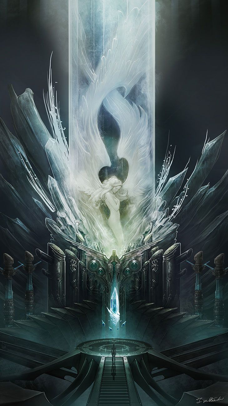 The Crystal from Mobius Final Fantasy