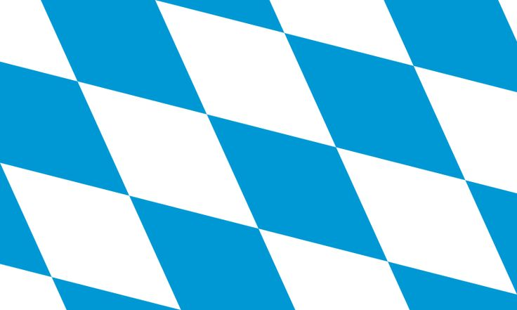 Bavarian flag colors - color scheme for Oktoberfest party ...