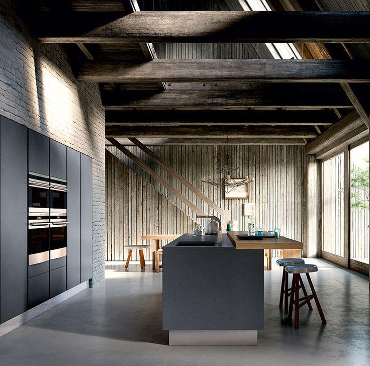 ... Isola Cucina su Pinterest  Isole Cucina, Cucine Moderne e Cucine