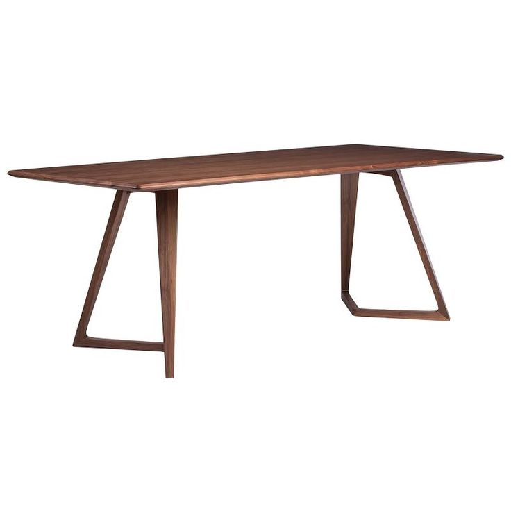 16 best steel leg tables images on pinterest wood tables for Cheap modern industrial furniture