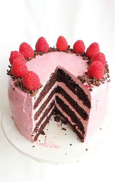 Chocolate Raspberry Cake_5090