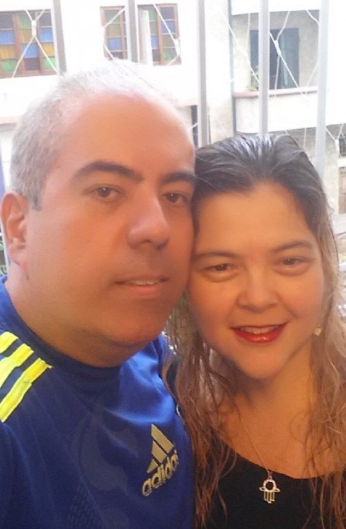 Luis Alexandre Franco Gonçales e Giovanna Trotta