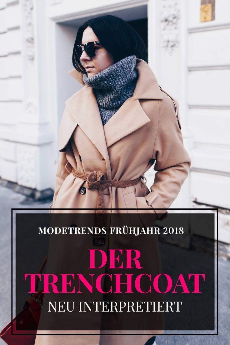 Modetrends Frühjahr 2018, der Trenchcoat neu interpretiert, So findet man den perfekten Trenchcoat, Modeblog, Fashion Blog, Outfits Blog, Was ist 2018 modern, Trendupdate Frühling, www.whoismocca.com
