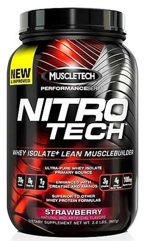 MuscleTech Nitro Tech Performance Series 2lbs - Now Only $40.99 SAVE 35%