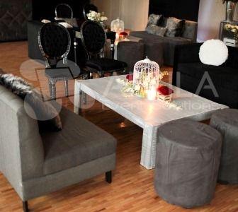 Renta de Mobiliario Elite- Renta de salas vintage, renta de muebles de diseñador, renta de muebles vip.