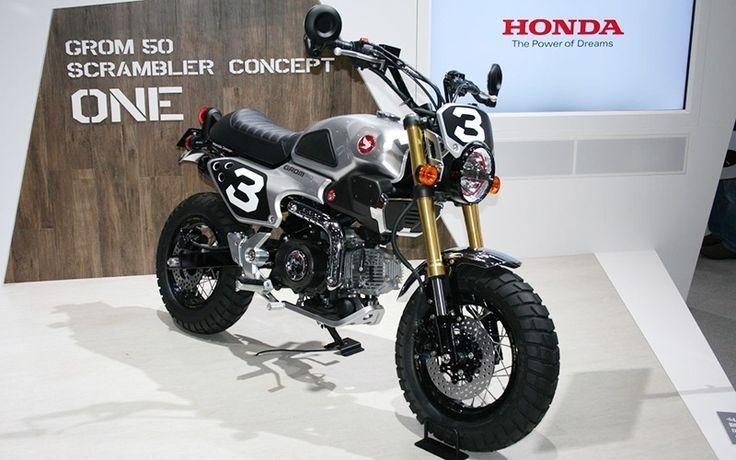 Honda usa Salão de Tóquio para lançar conceitos até de motocicletas, caso da nova Scrambler Concept