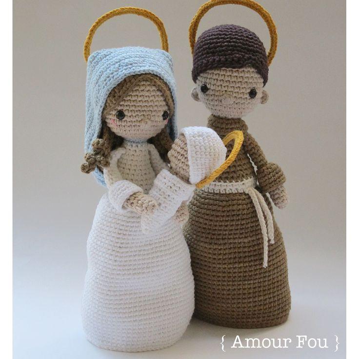 Nativity Set - Crochet Pattern by { Amour Fou }