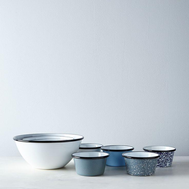 Porcelain Enamelware Nesting Bowls (Sets of 5) on Food52
