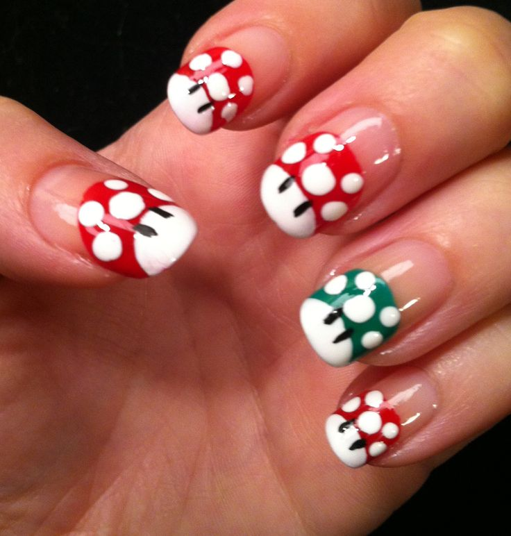 Super Mario #nails