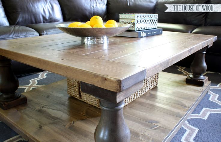 Diy coffee table The o jays and Restoration hardware on